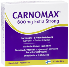 Carnomax 600 mg Extra Strong 60 tabl