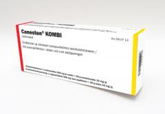CANESTEN KOMBI 500 mg + 10 mg/g emätinpuikko+emuls voide 1+20 g