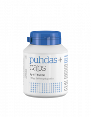 Puhdas+ Caps K2-vitamiini 100 mikrog kaps X60 kpl