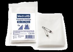 Medrull Triangular bandage kolmioliina 136x96x96mm 1 kpl