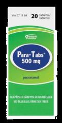 PARA-TABS 500 mg tabl 20 fol