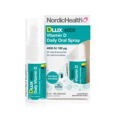Nordic Health DLux 4000 D3-suihke 100 mikrog 15 ml