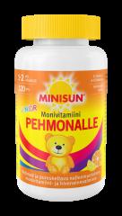 Minisun Pehmonalle Sitrus Monivit. Junior  pehmeä pureskeltava monivitamiini 120 kpl