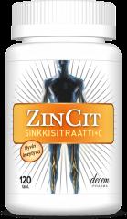 ZINCIT SINKKISITRAATTI + C-VIT X120 TABL