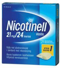 NICOTINELL 21 mg/24 h depotlaast 21 kpl