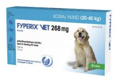 FYPERIX VET 268 mg paikallisvaleluliuos 2,68 ml