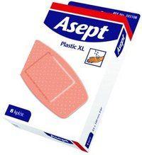 Asept laastari Plastic XL 8 kpl