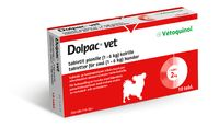 DOLPAC VET TABLETIT PIENILLE KOIRILLE 40,06/9,99/10 mg tabl (1-6 kg)10 fol